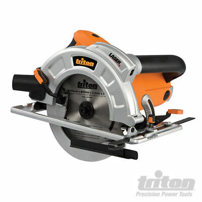 Triton Precision Circular Saw - Laser Sight - 1800w Motor - Brand New - 185mm