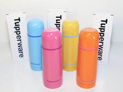 Tupperware Thermos Flask 350ml (Set of 4) Limited Edition RRP AU$118.00