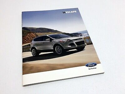 2014 Ford Escape S SE Titanium Brochure