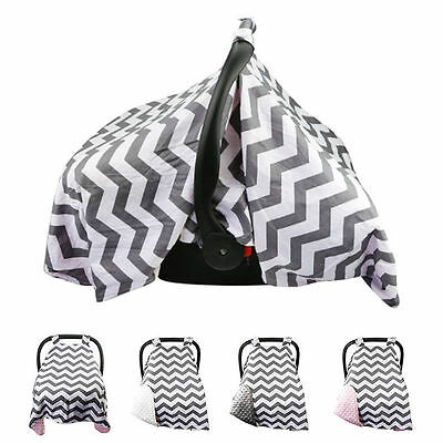 Baby Seat Basket Canopy Swaddle Buggy Stroller Cotton Cover Sun Shade Blanket