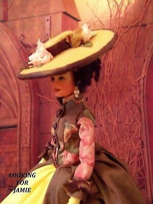 Outlander Inspired Claire Barbie Repaint Doll Paris Art Scottish Collectible