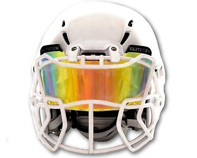 PRIZM Football & Lacrosse Eye-Shield Facemask Visor by EliteTek - Youth & Adult!