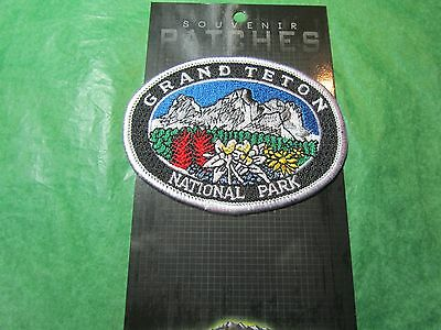Grand Teton National Park Embroidered Patch Wyoming Souvenir-P66