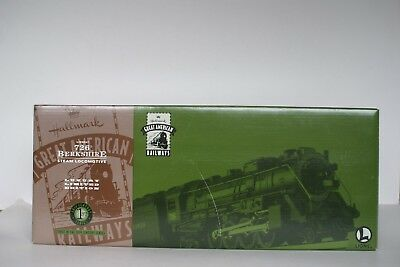 Hallmark Lionel 726 Berkshire Steam Locomotive Train Great American Railways