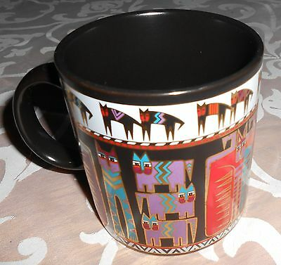 Laurel Burch Egypticats Coffee Cup- Signed