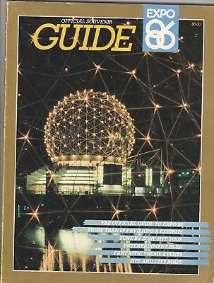 1986 Vancouver Expo Guide Book