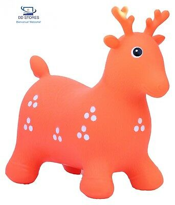 Happy Giampy - Hg103 - Animaux Sauteurs Gonflables - Cerf