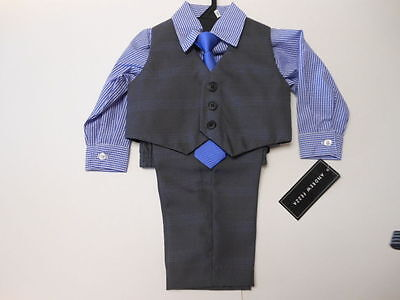 Boys Dress Suits Toddler suits Baby suits Pants Vest Shirt Tie 4 pc Set Variety