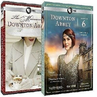 Downton Abbey Complete Sixth 6th Season 6 + The Manners DVD Set Series TV R1 Six