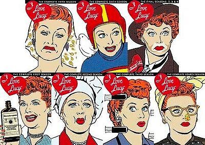 I Love Lucy COMPLETE SERIES DVD Seasons 1 2 3 4 5 6 7 8 9 Bundle Collection Lot