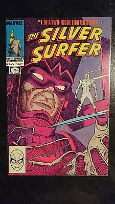 The Silver Surfer #1 (Marvel, 1988) Condition: VF.... (Epic)