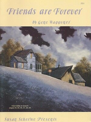 Oil Painting Patterns Susan Scheewe Presents Friends Are Forever Gene Waggoner
