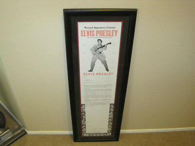 Elvis Presley Atomic Powered Singer Personal Appearance Contract 1955 COA