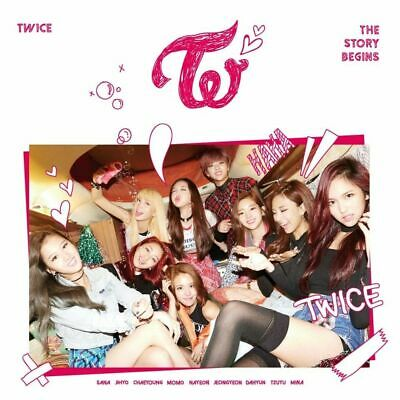 TWICE THE STORY BEGINS 1st Mini Album CD+Photo Book+3p Card+Garland+GIFT SEALED