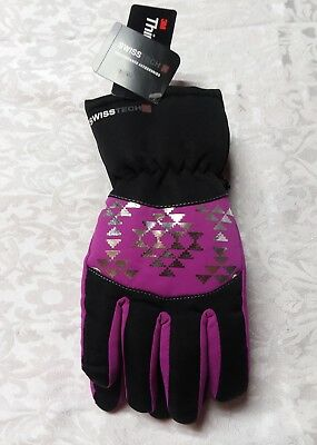 (C-84-3) 3M SwissTech Thinsulate Ski Gloves Girl's S-M Sparkling Orchid NWT
