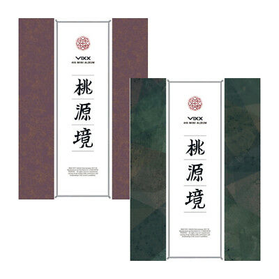 VIXX [桃源境(도원경)] Shangri-La 4th Mini Album CD+68p Photo Book+Post Card+Bookmark