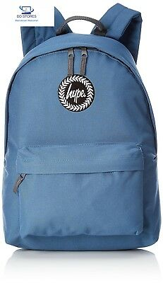 HYPE BADGE Cartable, 40 cm, Bleu (Blue)