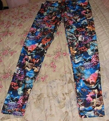 Dori Creations Girl Size 12/14 Under The Sea Leggings New With Tags