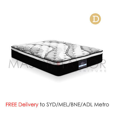FREE DELIVERY(T&C) Euro Top Bed Mattress Double Size 5 Zoned Pocket Springs Foam