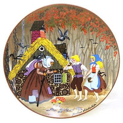 Vintage Poole Pottery Gingerbread House Display Plate FREE EXPRESS POST AUS