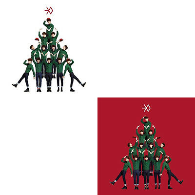 EXO [MIRACLES IN DECEMBER] Winter Album KOREAN/CHINESE Ver SnowBall+1p GIFT CARD
