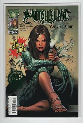 Witchblade #80 (DF Green Foil Exclusive COA LTD 250) Dynamic Forces COA Land