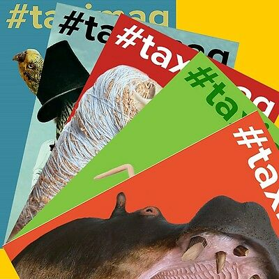 #taximag independent taxidermy magazine (set of 5)
