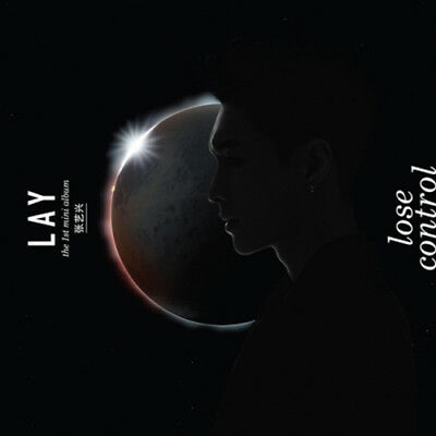EXO LAY [LOSE CONTROL] CHINESE 1st Mini Album CD+Photo Book+1p GIFT CARD SEALED