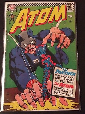 DC Silver Age Lot- The Atom 27, Mystery In Space 63, The Creeper 4, Metamorpho 8