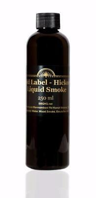 Hickory Liquid Smoke - Gold Label - LOOK - BIG 250 ml - Commercial Quality Pack