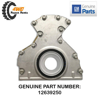 Genuine GM Holden Rear Main Oil Seal & Plate Housing Commodore HSV LS1 LS2 V8