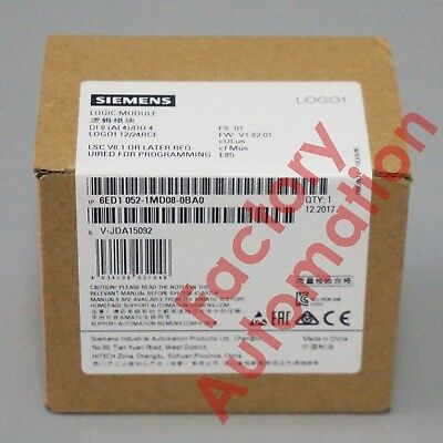 2017 *FACTORY SEAL*Siemens 6ED1052-1MD08-0BA0 Replace 6ED1052-1MD00-0BA8