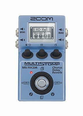 Zoom MS-70 CDR - Pedale multieffetto Chorus, Delay, Reverb NUOVA!!!!!!!!!!!!!