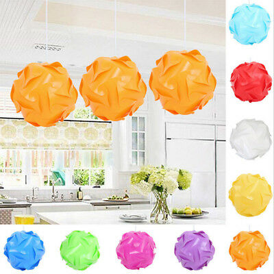 30Pcs Light lampshade IQ lamp Ceiling DIY chandelier LED Puzzle Modern