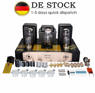 EL34 HiFi Single-ended Class A Röhrenverstärker Tube Stereo Amplifier DIYKit 24W