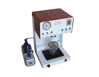 Style Dental Lab Vacuum Mixer Mixing Machine With Outer Pump Dental Lab
