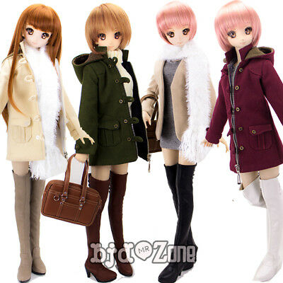 New 1/3 BJD SD DD LUTS Doll Shoes 4 kinds color Thigh Boot High-Heeled shoes