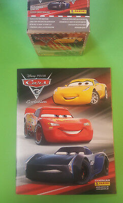 Panini Disney Cars 3 Sticker Sammelalbum + 1 x Display - 50 Tüten Booster  OVP