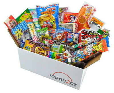 NEW! 30 PIECE JAPANESE CANDY SET SEPTEMBER #6 Japanese Snack Box FREE AIRMAIL