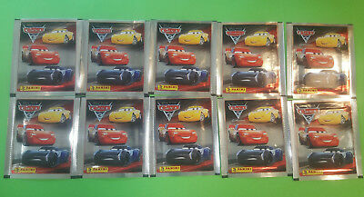 Panini Disney Cars 3 Sticker 10 Tüten Booster 50 Sticker OVP