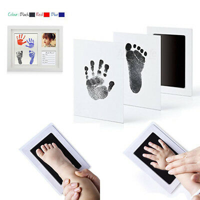Newborn Footprint Ink Pad Handprint Non-Toxic Clean-Touch Pearhead Inkless Brief