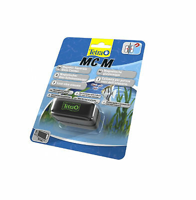 Tetra Floating Algae Magnet Aquarium Glass Tank Cleaner Medium MC-M