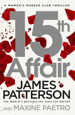 15Th Affair ____ James Patterson ___ Brand New ___ Freepost Uk