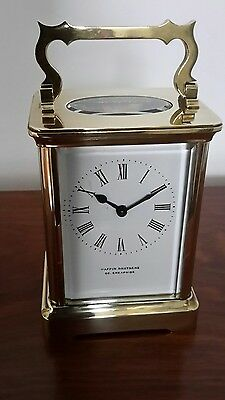 Mappin Bros. French 8-Day Carriage Clock, R & Co., new Mainspring, GWO