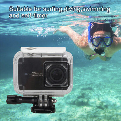 For Xiaomi Yi 4K 60fps 2017 New Action Camera Waterproof Case Black 85g