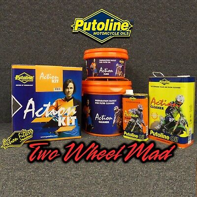 Putoline Action KIT x 1 box - MX Motorcross air filter maintenance kit