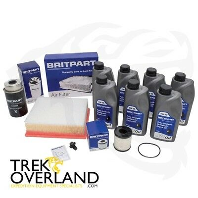 Land Rover Defender TD5 Discovery 2 Service Kit with Oil - DA6004COM