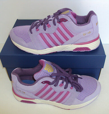 K Swiss Ladies Trainers Casual Retro Gym Purple Fitness New Shoes Size 4 5 6