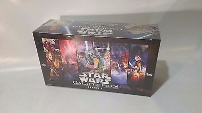 Topps Star Wars Galactic Files Series 2 Trading Cards Factory Sealed Hobby Box