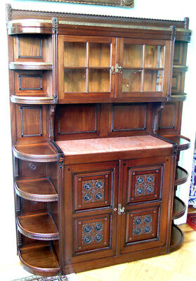 Modern Gothic Antique Cabinet Of Extraordinary Quality